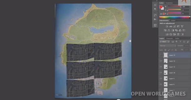 Watch Dogs Map Size Compared To GTA 5