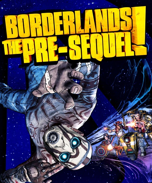 Borderlands: The Pre-Sequel Box Art
