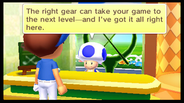 Mario Golf WT4