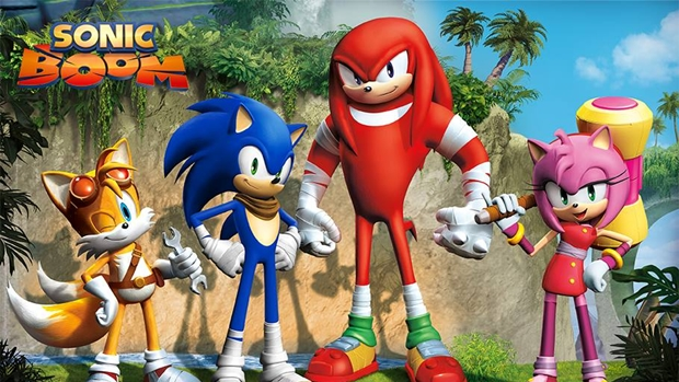 sonic boom characters