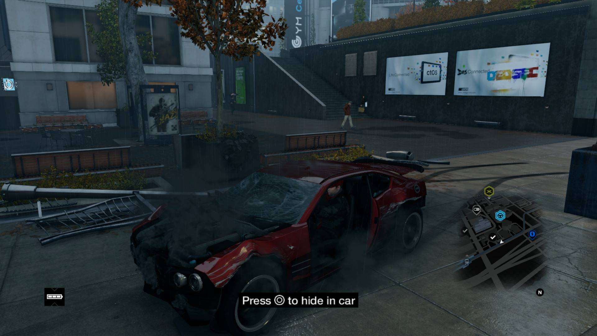 Watch Dogs Car View Ps