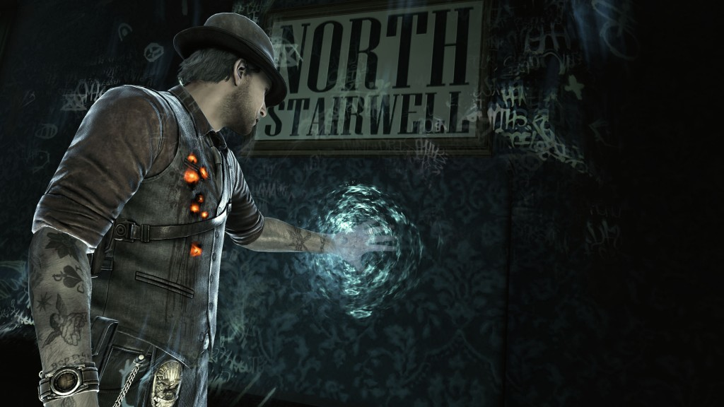 Murdered soul suspect ghost
