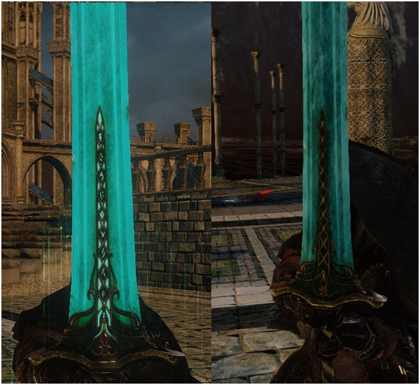 Traditional Moonlight Great Sword dark souls 2 pc mod