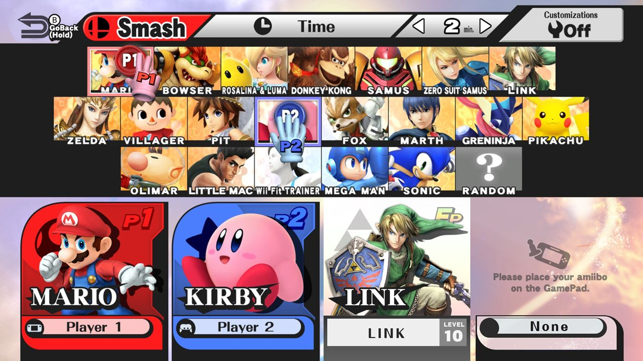 Super Smash Bros Wii U Features Mii Characters As -8535