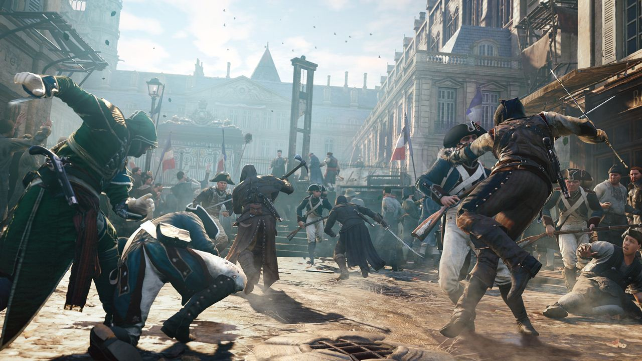Assassin S Creed Unity Crowd Sizes Not Linked To Frame Rate