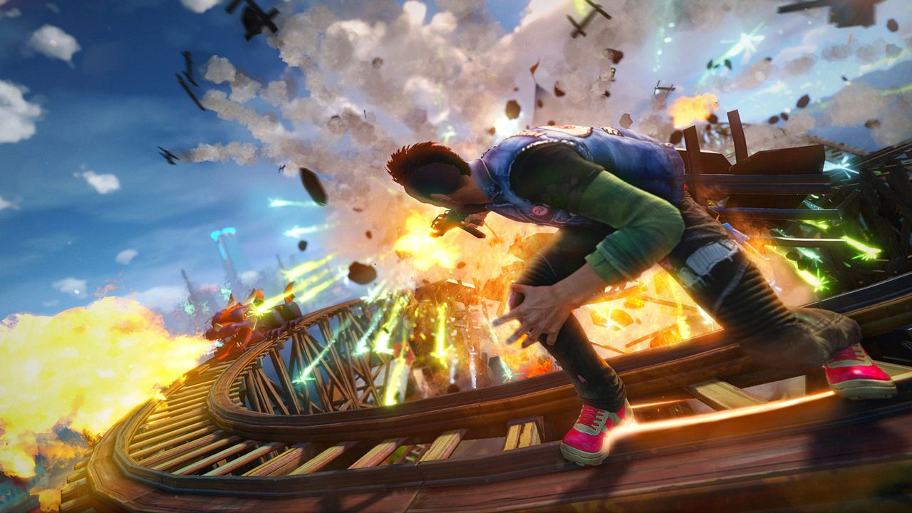 Xbox One Exclusive Sunset Overdrive Coming To Pc Rumour