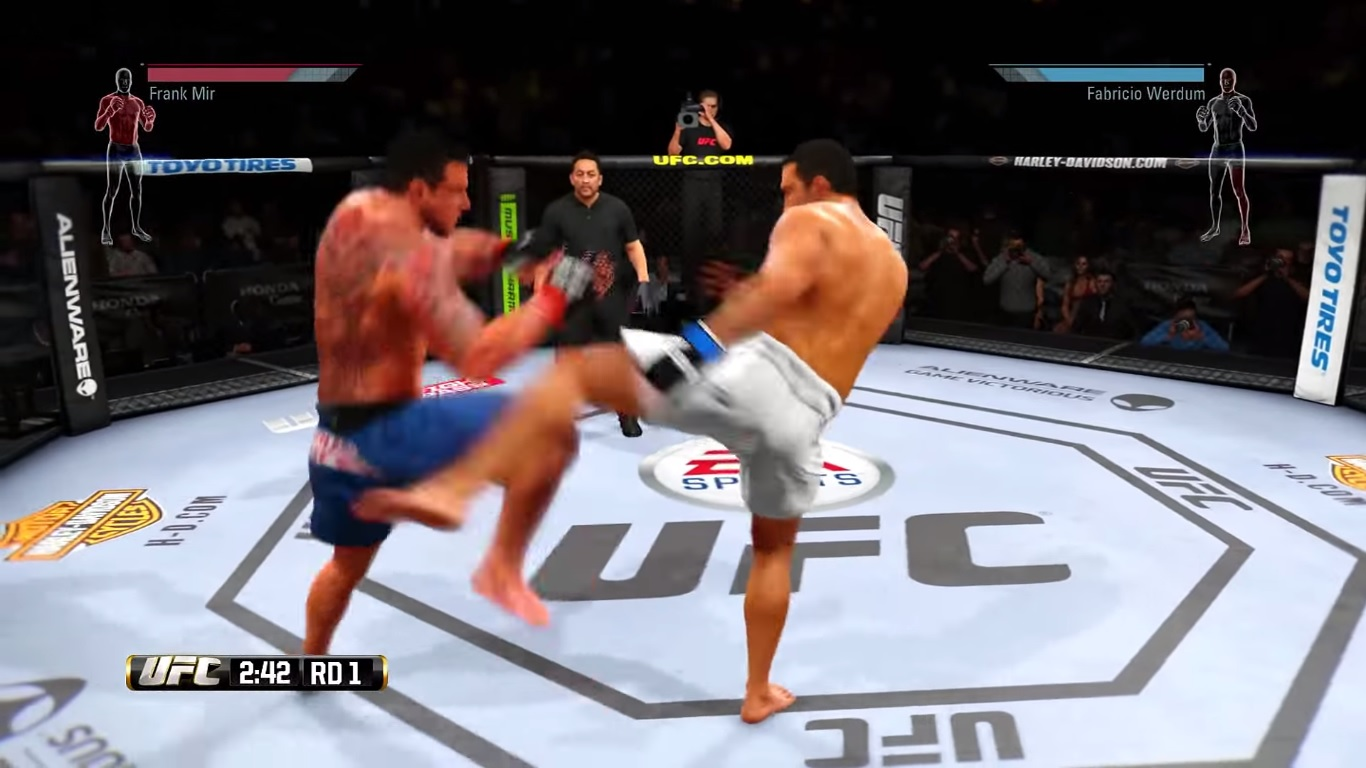 EA Sports UFC 2: How to Improve Your Fighter in Career Mode