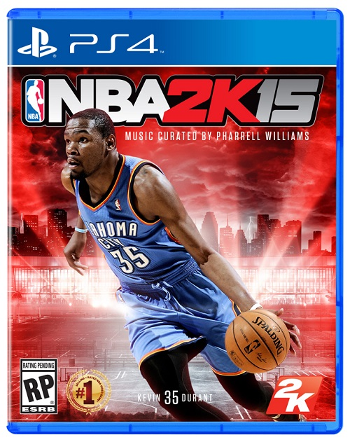 NBA 2K15 Box Art