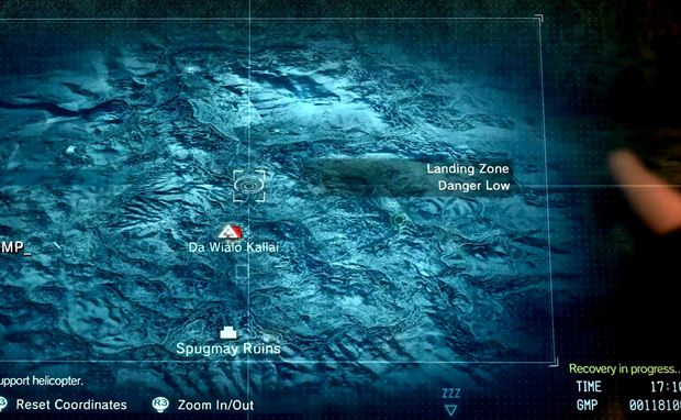 metal gear solid 5 map