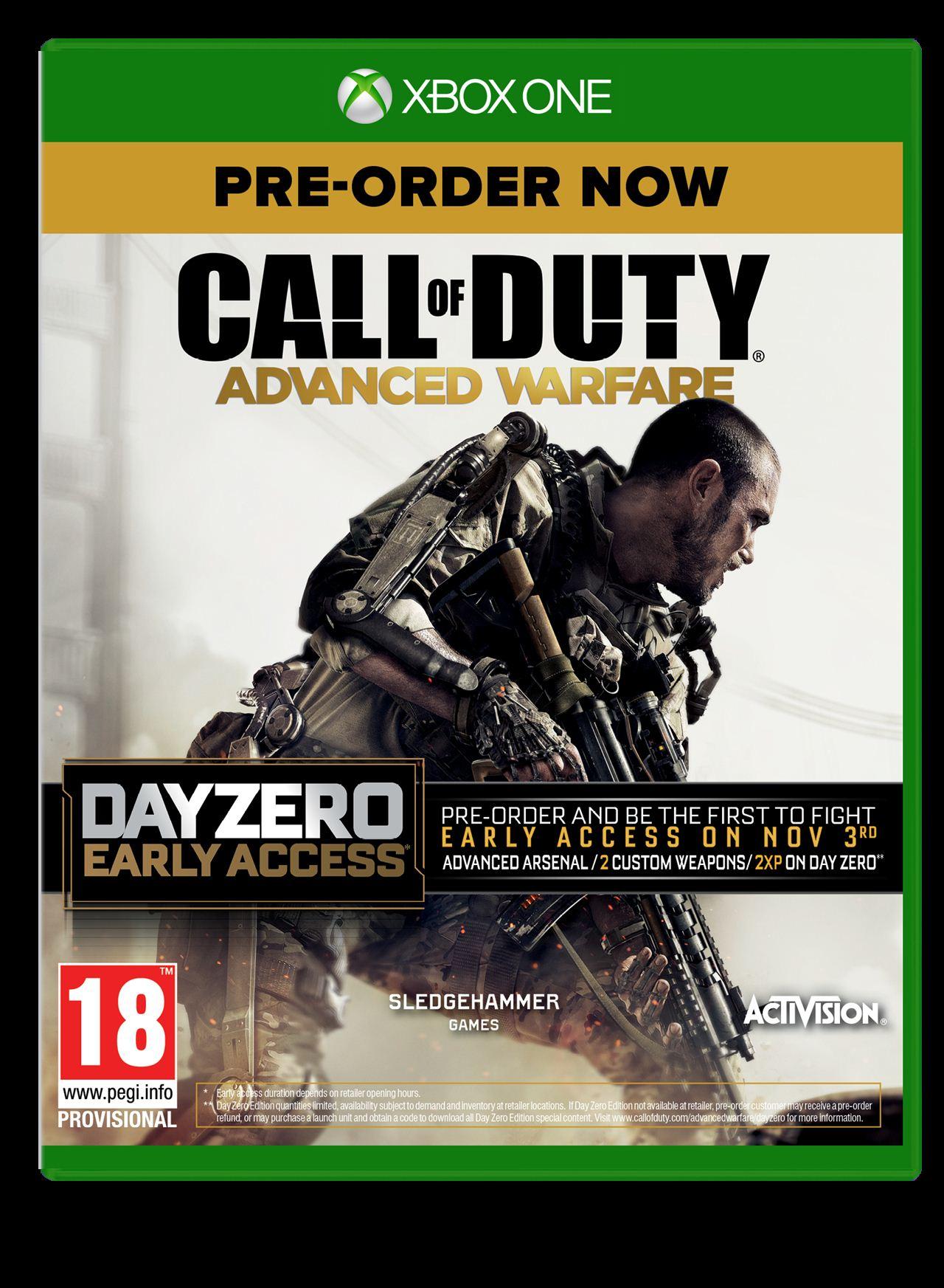 Call of Duty: Advanced Warfare ps4 day zero
