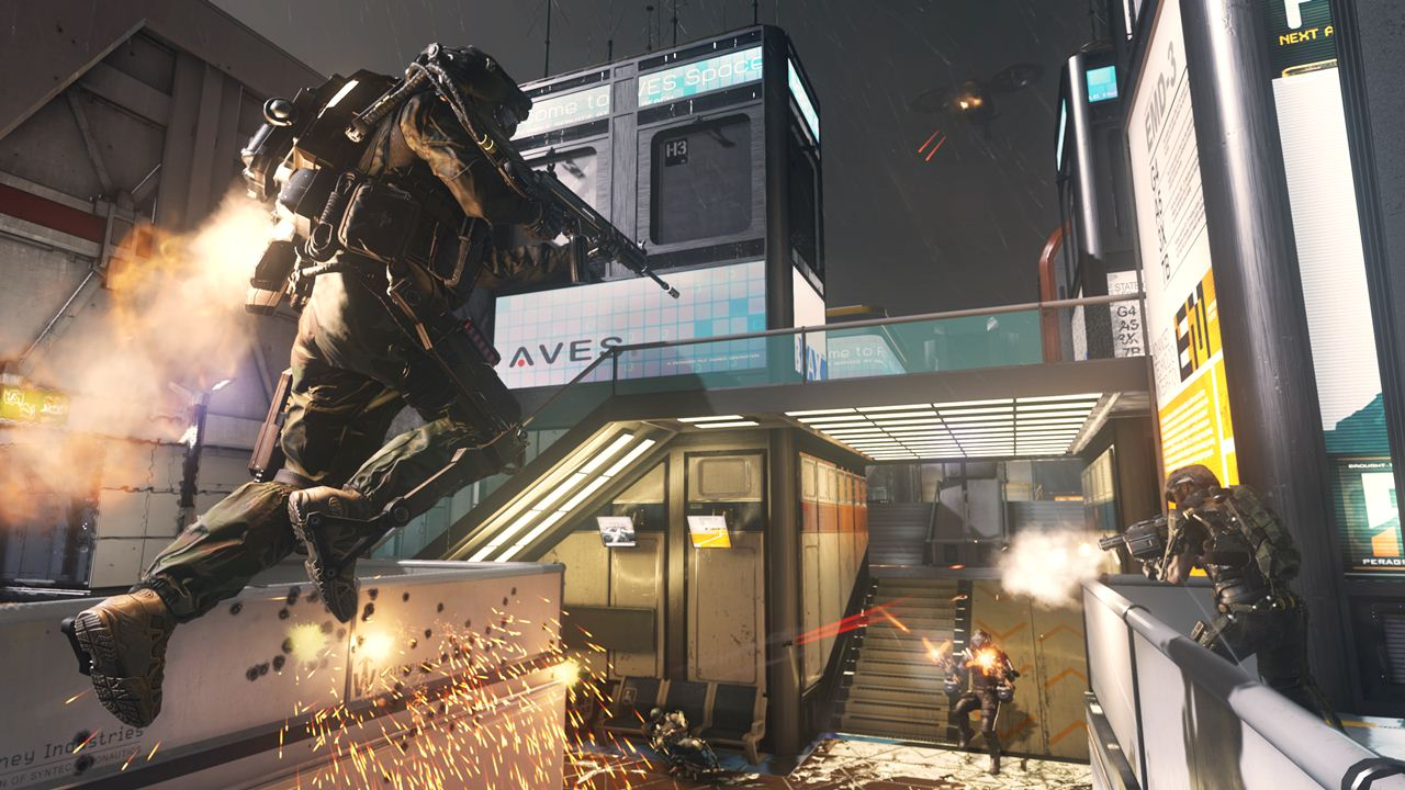 Call of Duty: Advanced Warfare ascend map
