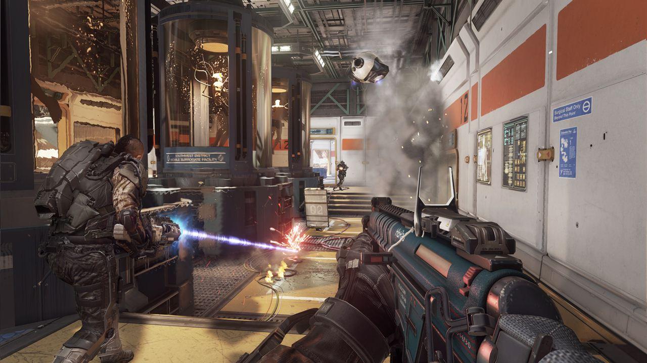Call of Duty: Advanced Warfare biolab map