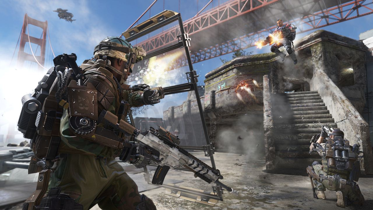Call of Duty: Advanced Warfare defender map