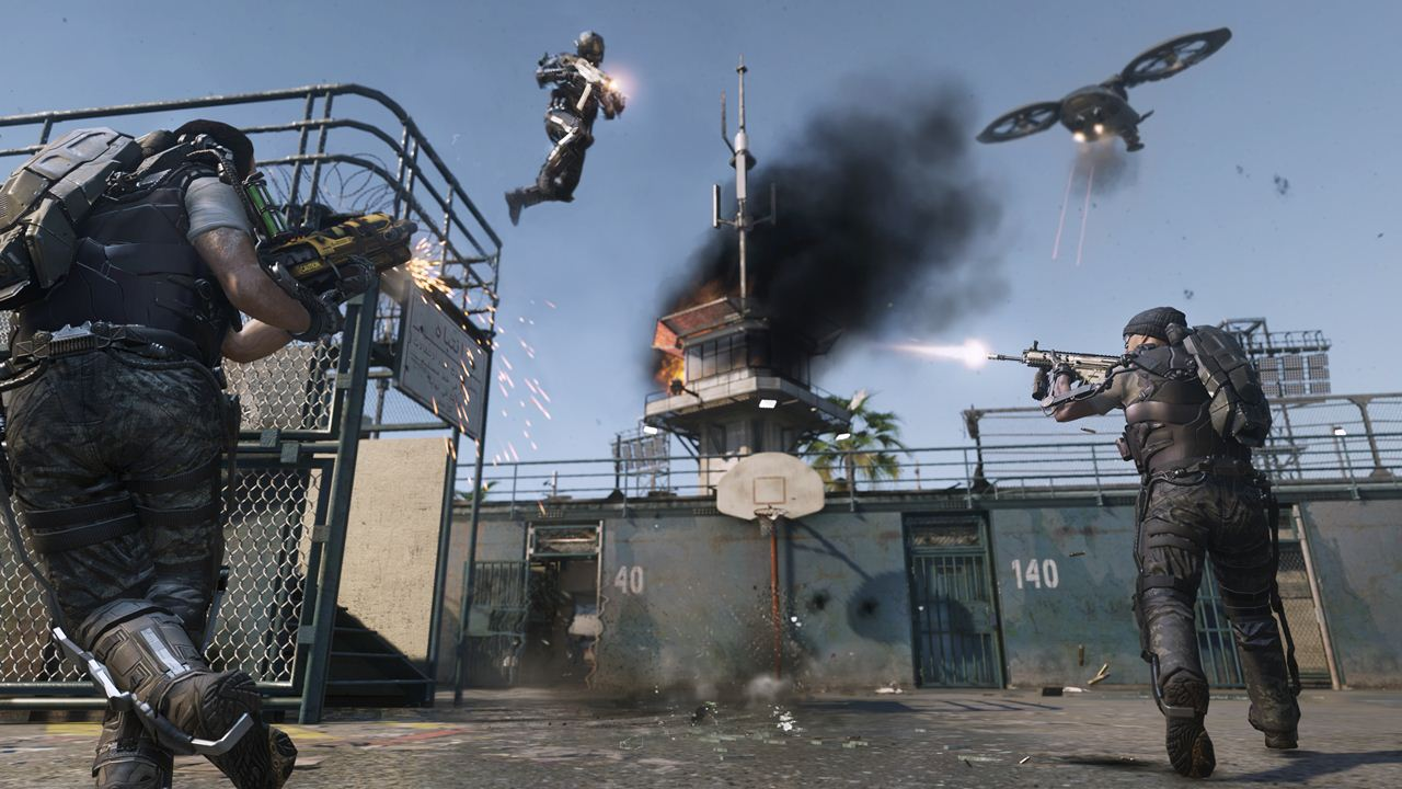 Call of Duty: Advanced Warfare riot map