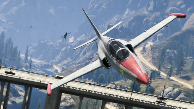Grand Theft Auto Online_flight school