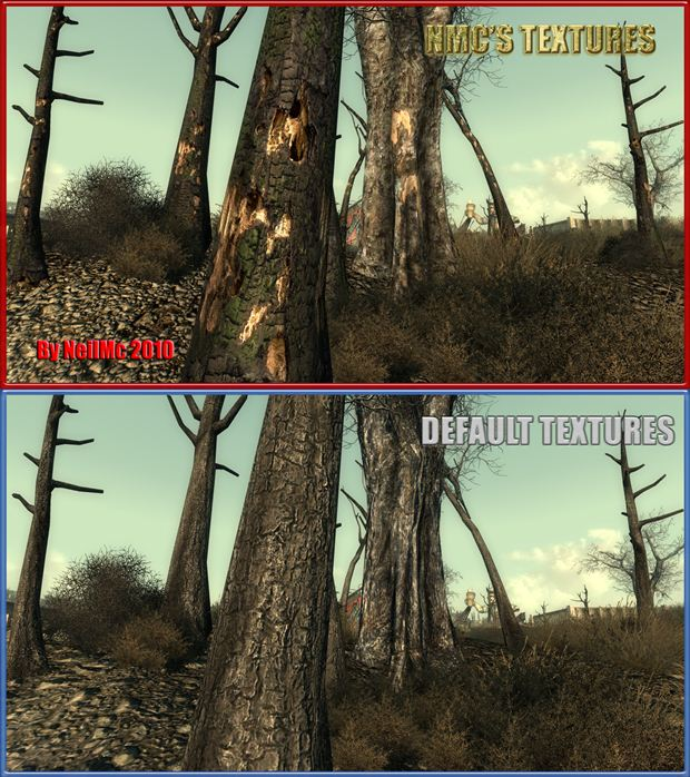 Фоллаут 3 nmc s texture pack