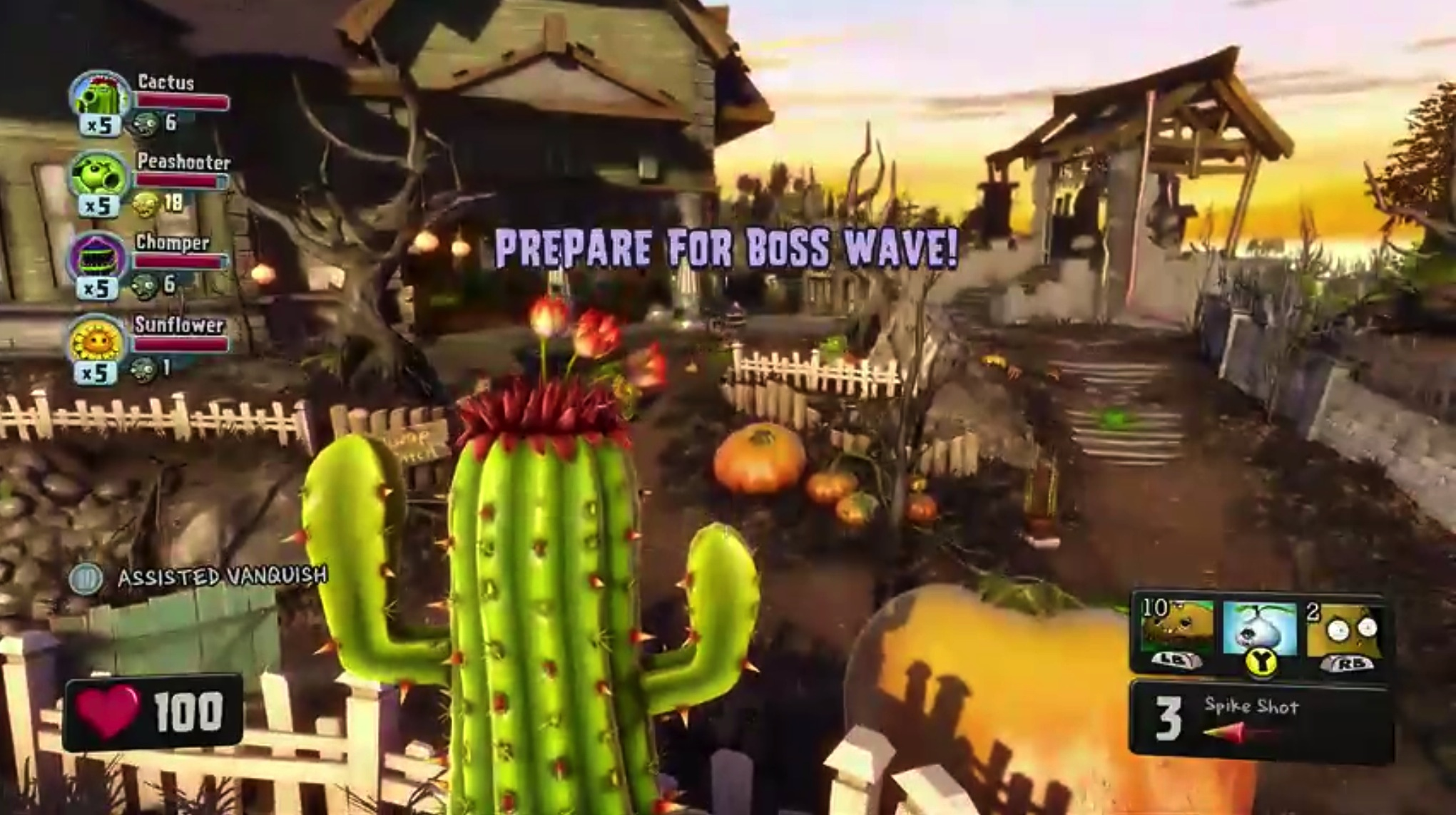 PvZ Garden Warfare Ps3
