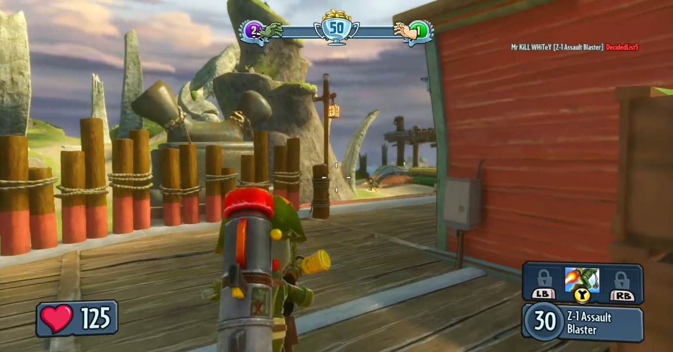 Plants vs. Zombies: Garden Warfare Visual Analysis – PS4 vs. Xbox ...