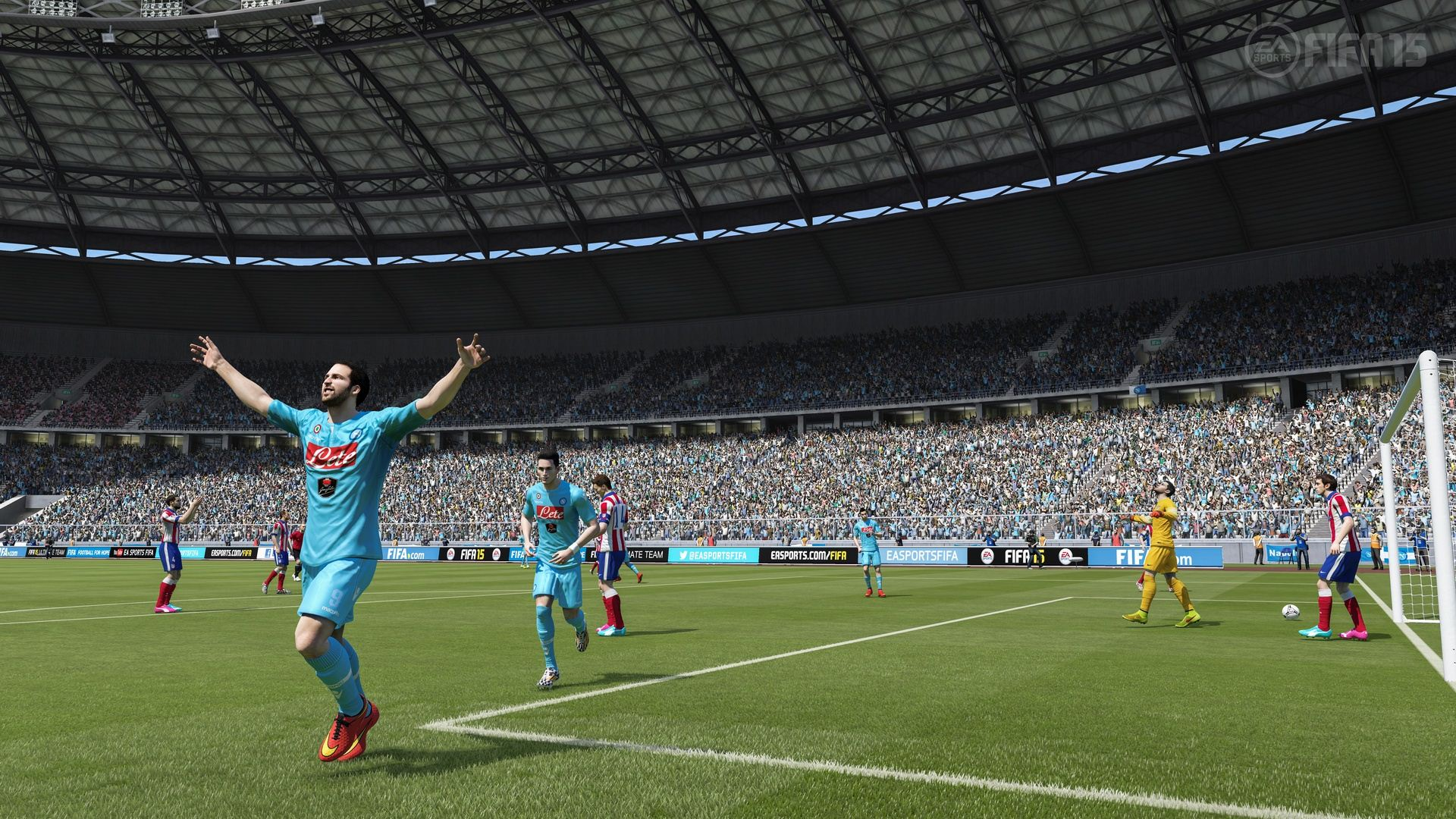 Fifa 15 receives new gameplay footage career mode details and ps4