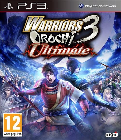 Warriors Orochi 3 Ultimate Box Art