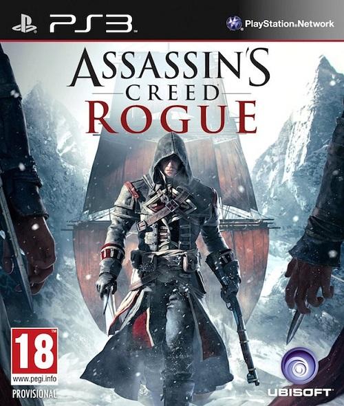 Assassin's Creed Rogue Box Art