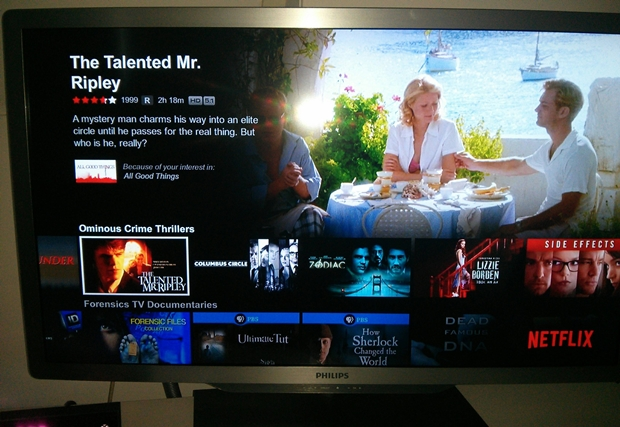 Netflix App on Xbox One