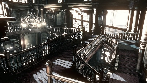 Resident Evil Remaster Mansion