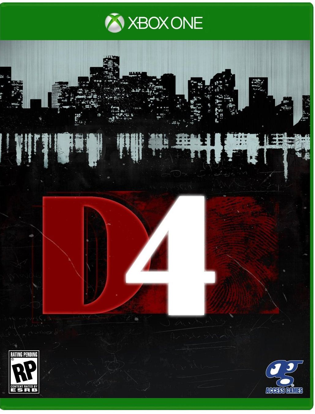 D4: Dark Dreams Don't Die Box Art