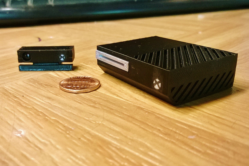 Mini Xbox One 3D print