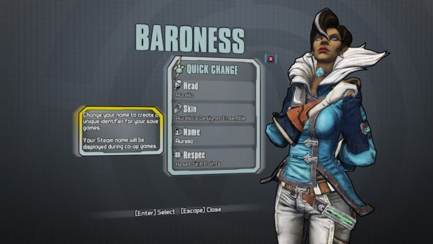 Borderlands The Pre-Sequel_Aurelia