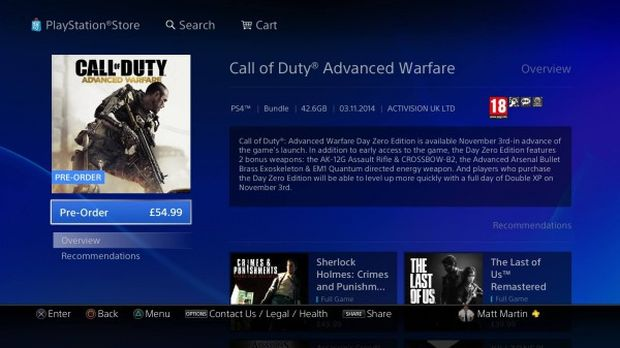 Call of Duty_Advanced Warfare_PS4