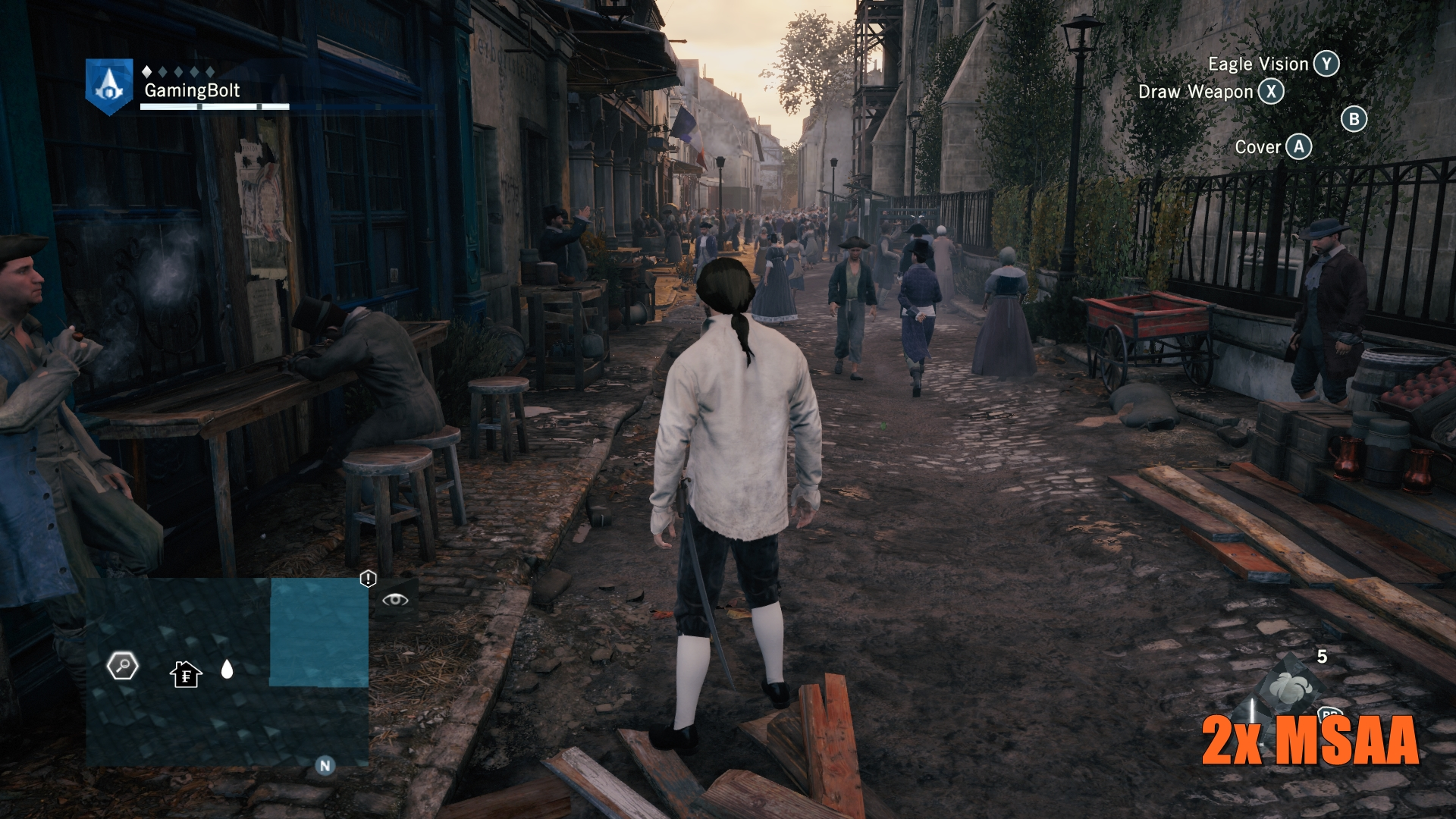 Assassin's Creed Unity Visual Analysis: PS4 vs PC vs Xbox One