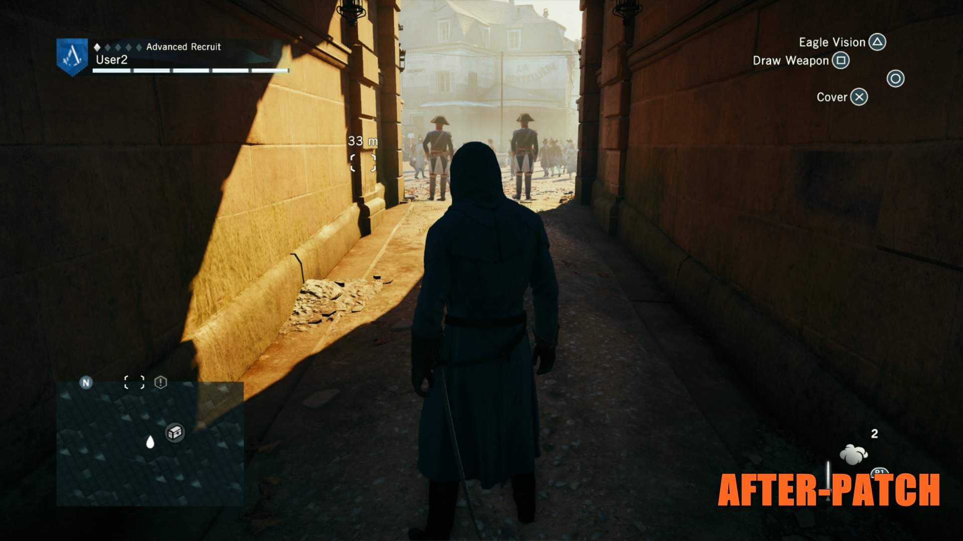 Assassin's Creed Unity After Patch 8