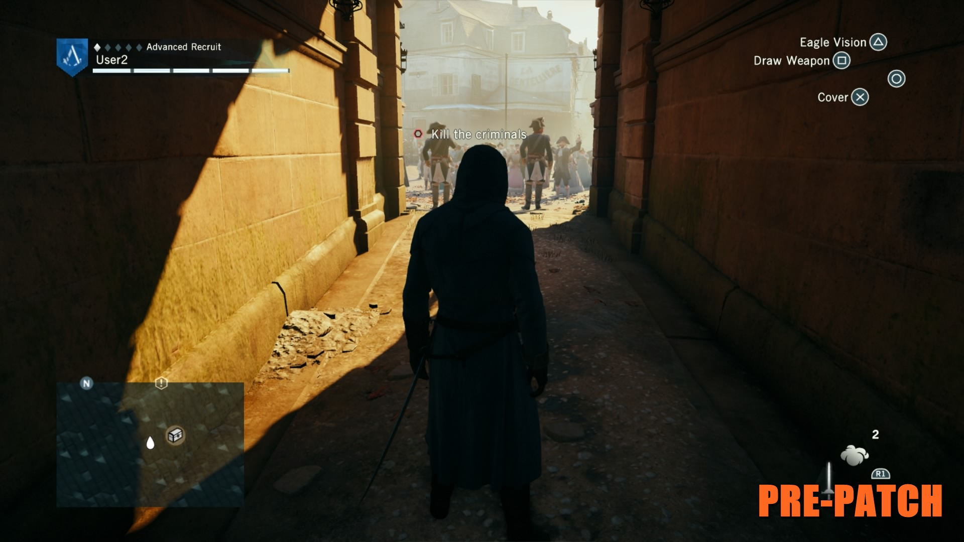 Assassin's Creed Unity Before Patch 14