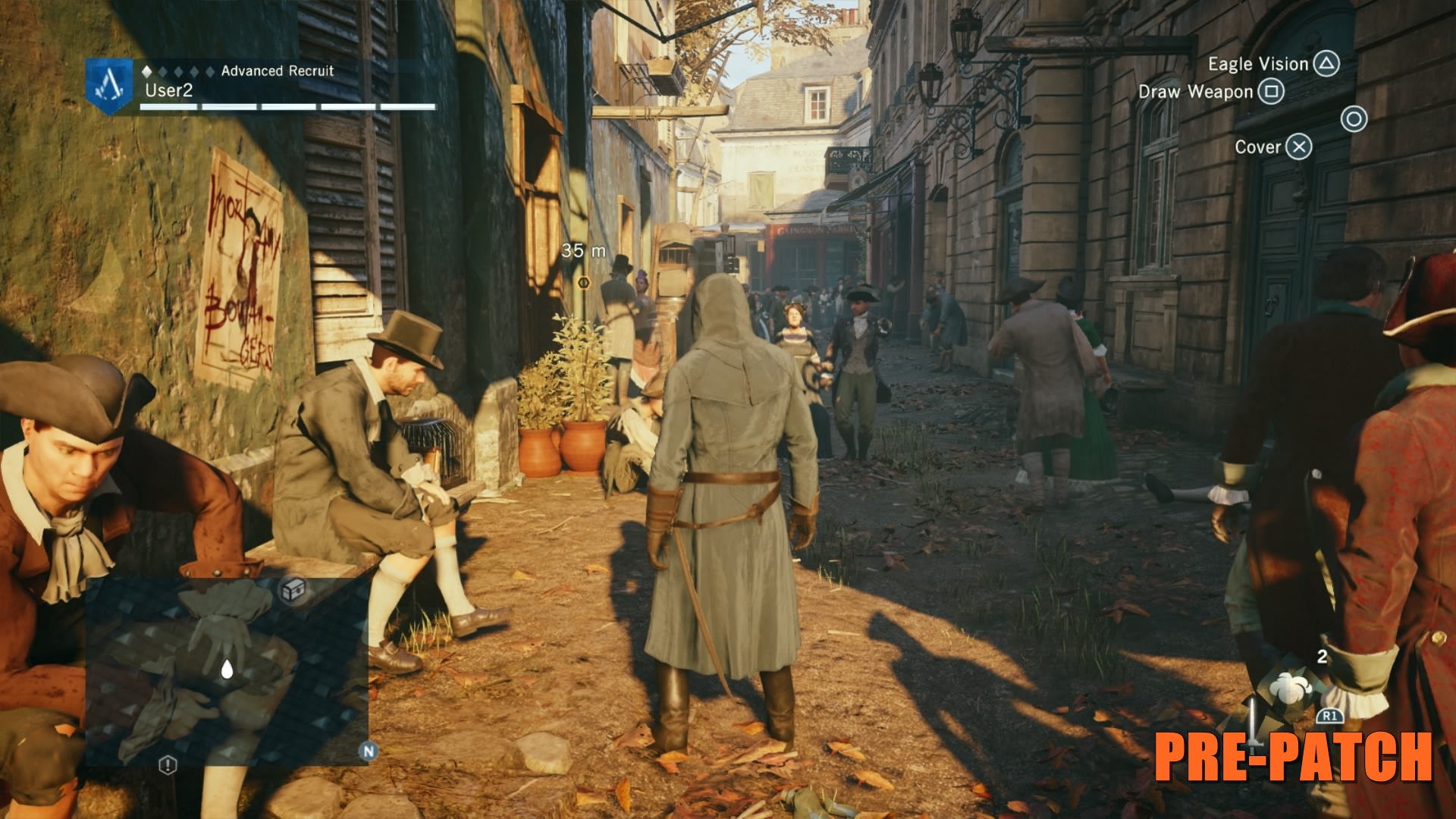 Assassin's Creed Unity Before Patch 3
