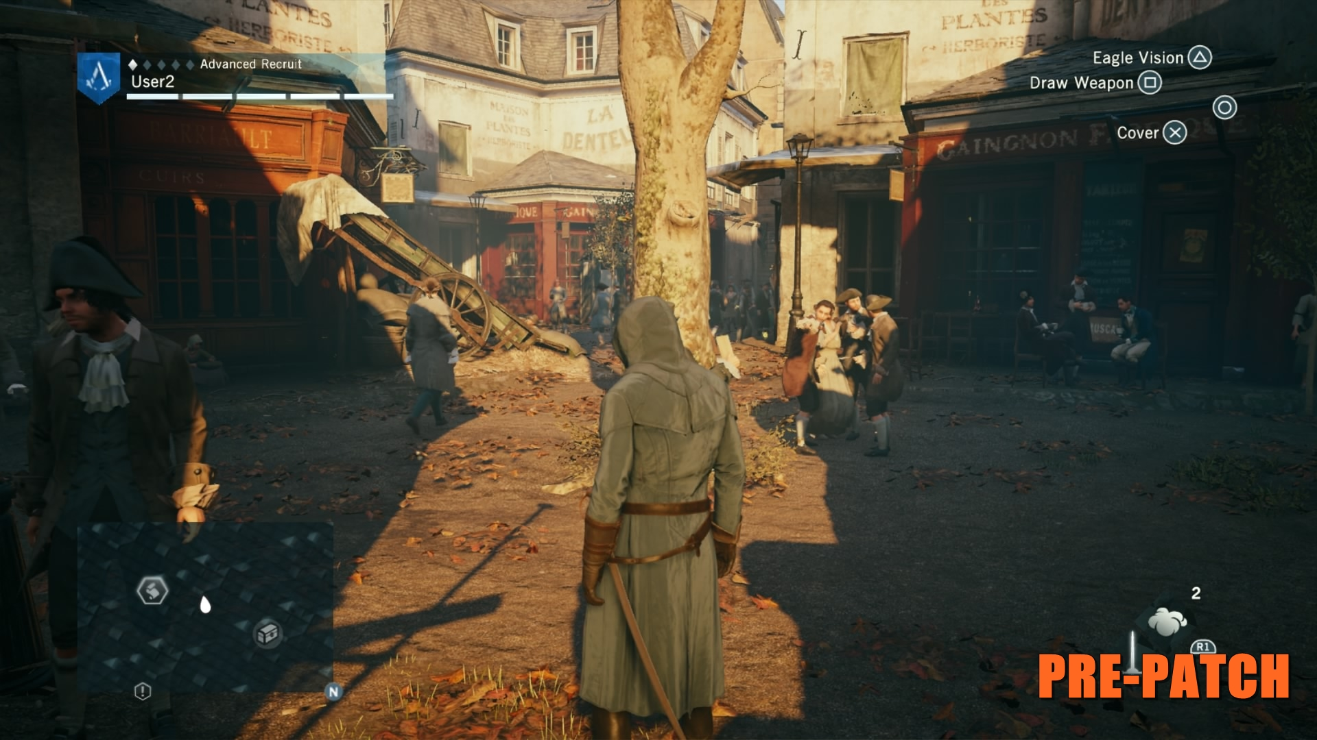 Assassin's Creed Unity Before Patch 4