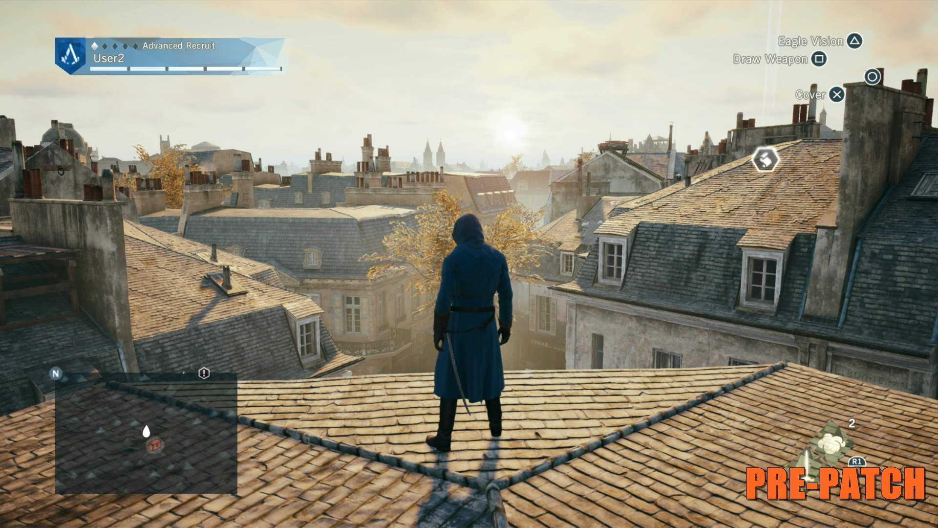 Assassin's Creed Unity Before Patch 5