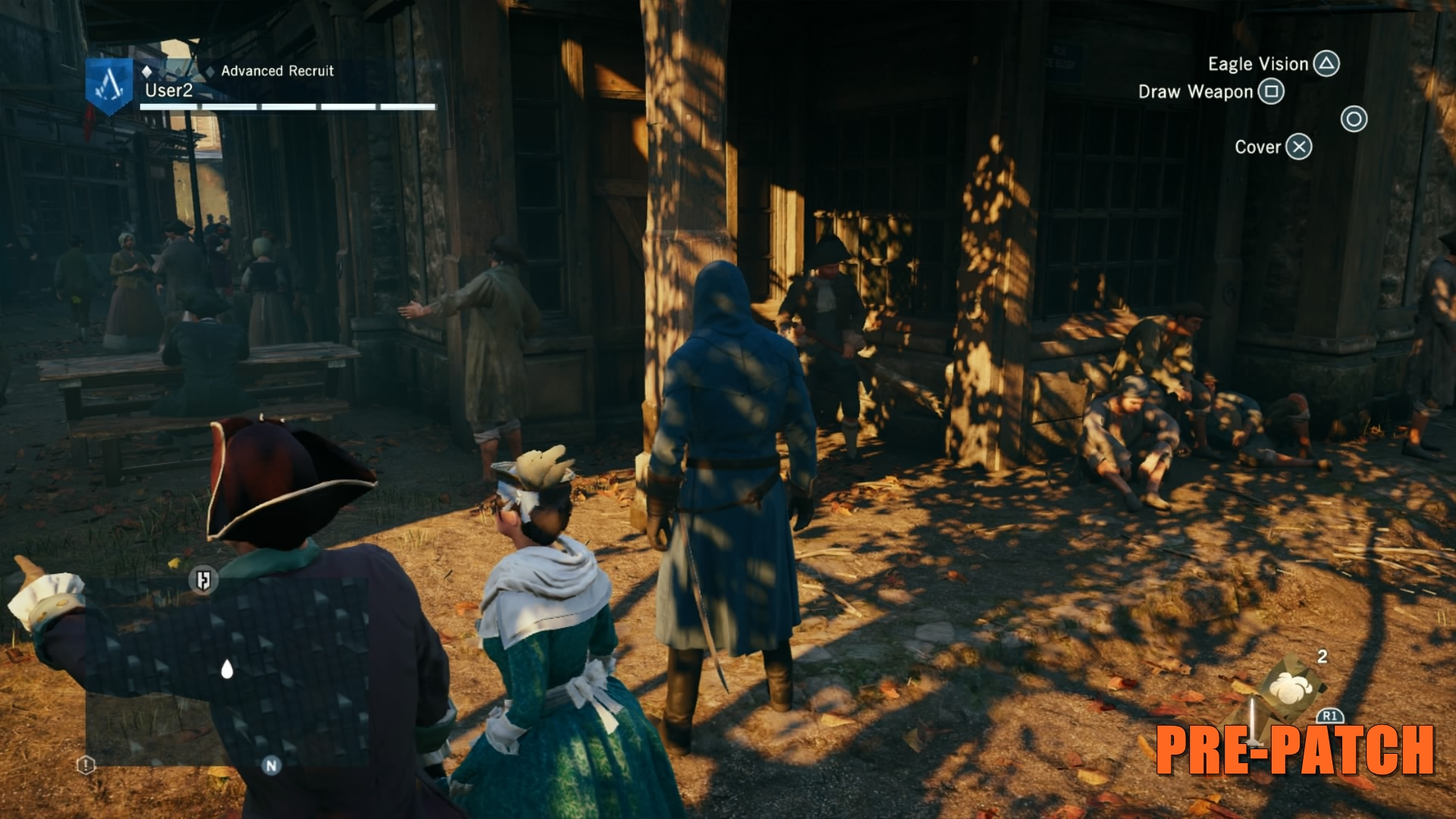 Assassin's Creed Unity Before Patch 7