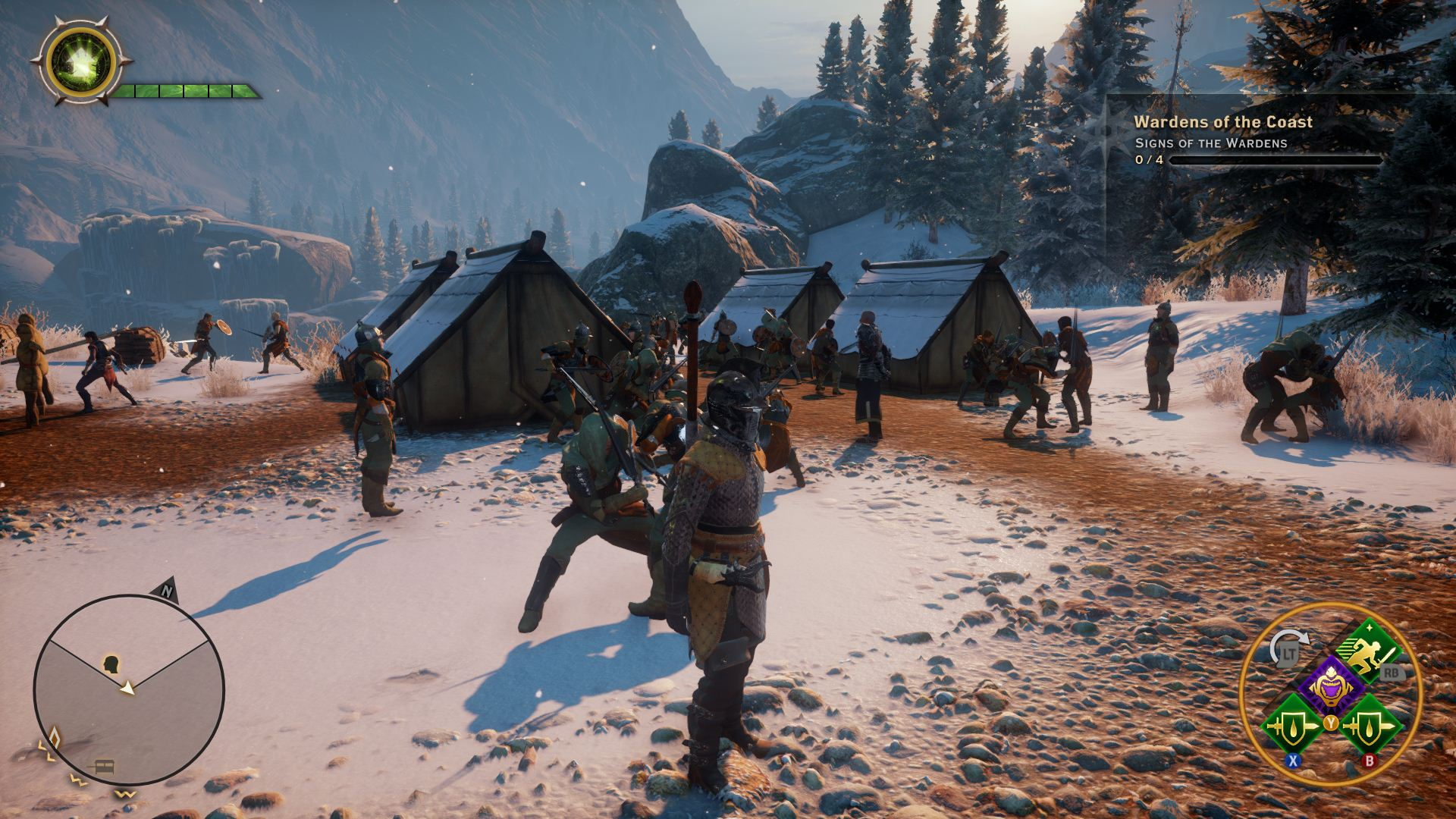 Dragon Age Inquisition Visual Analysis Ps4 Vs Xbox One