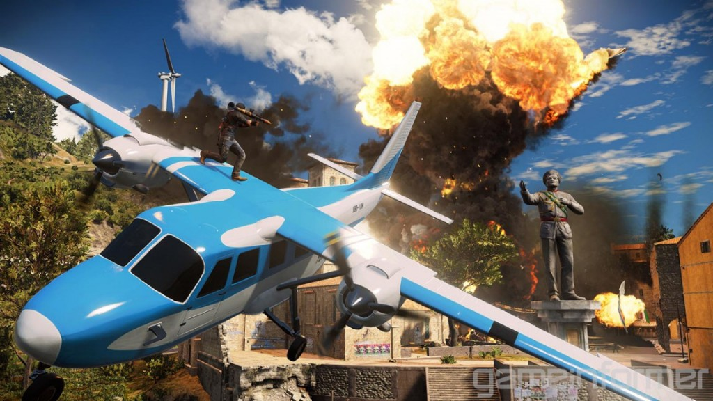 Just Cause 3 Airplane