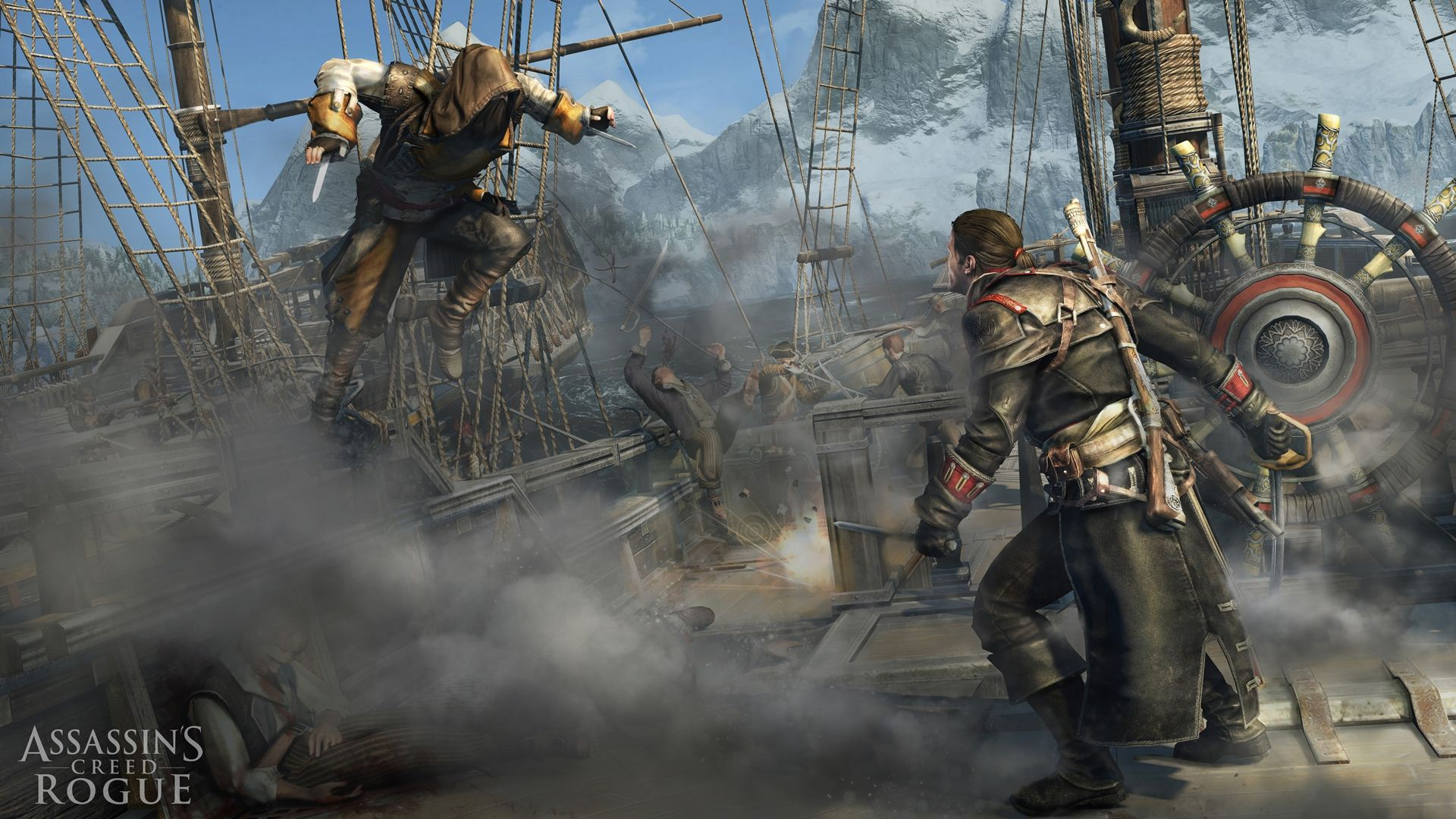 Assassins Creed Rogue Bullshot