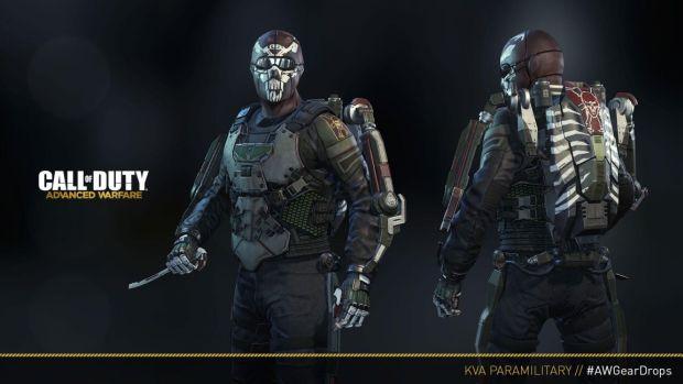 Call of Duty Advanced Warfare_KVA Paramilitary Gear