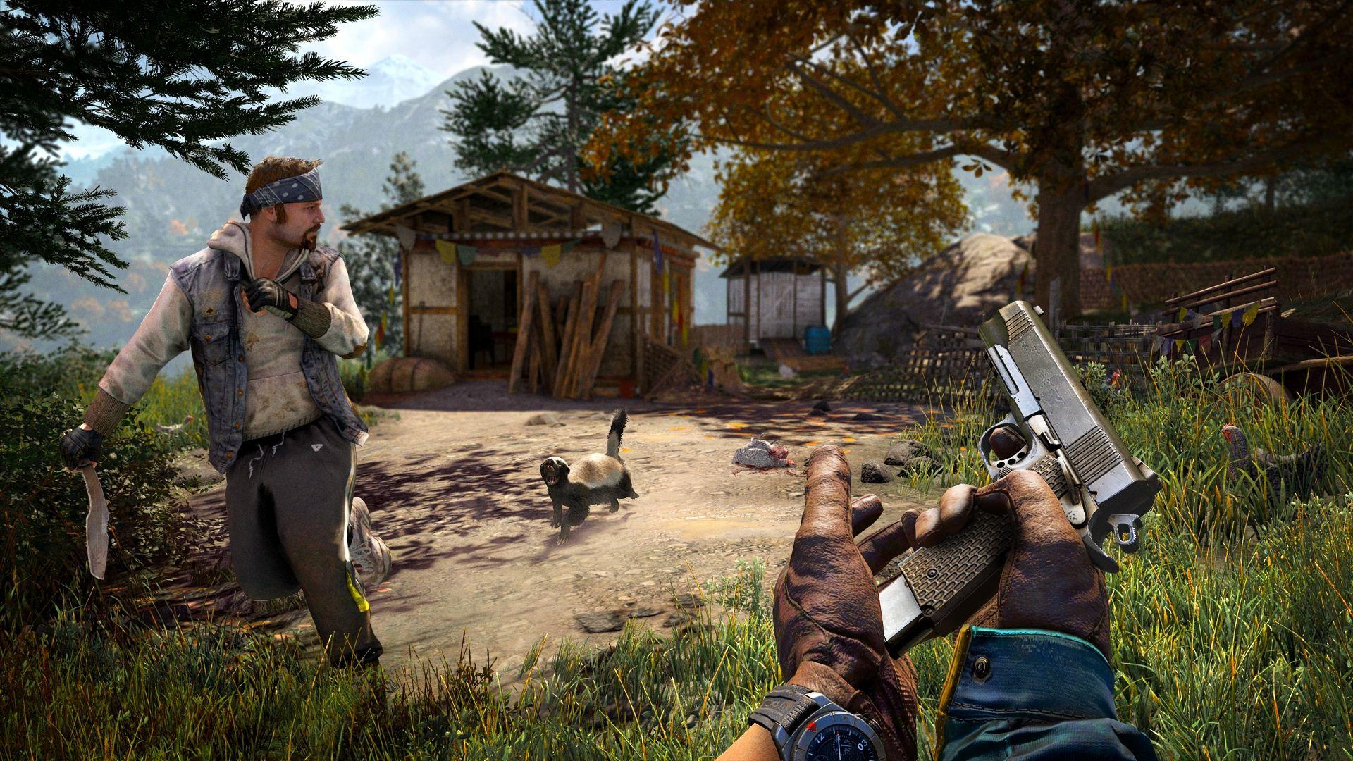 Far Cry 4 Bullshot