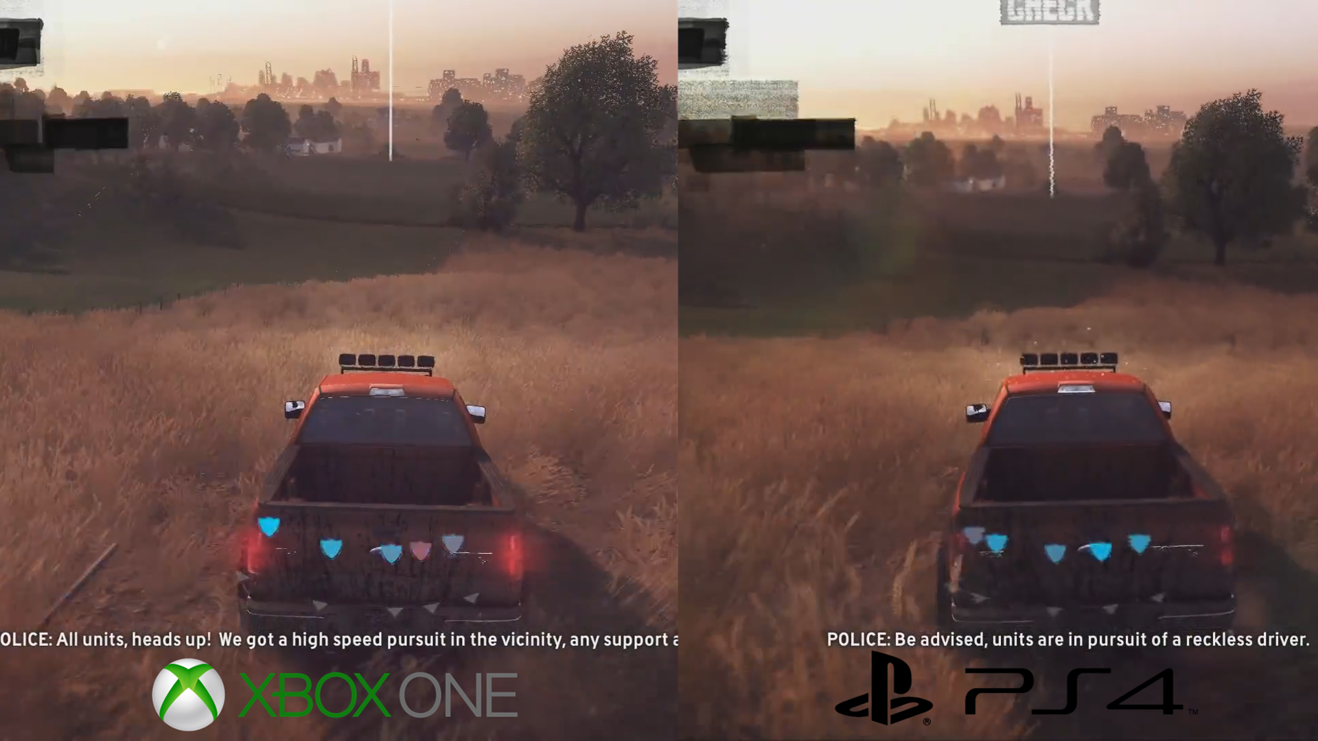 the crew ps4 versus xbox one solid performance at 30fps. Black Bedroom Furniture Sets. Home Design Ideas