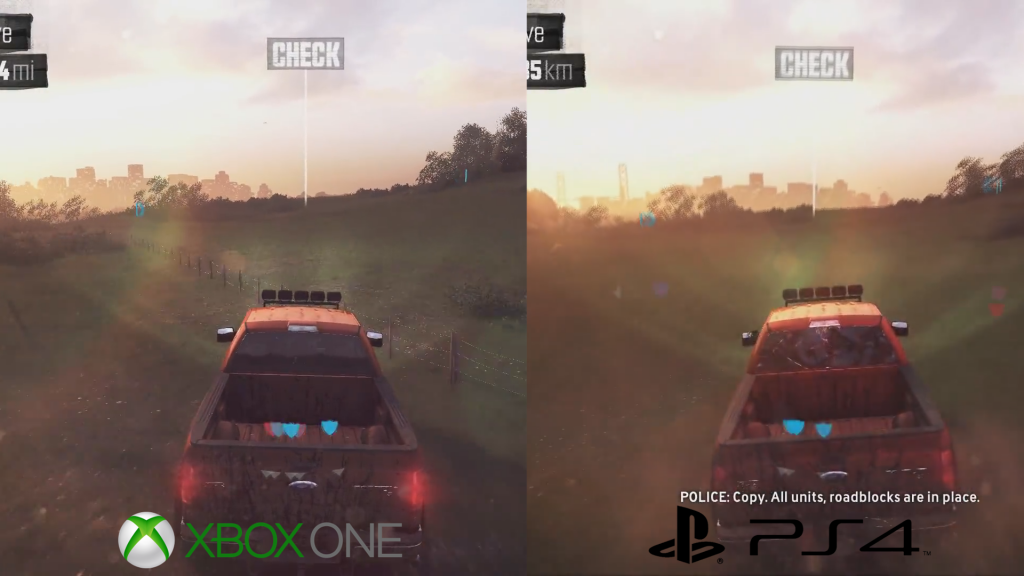 The Crew PS4 Versus Xbox One