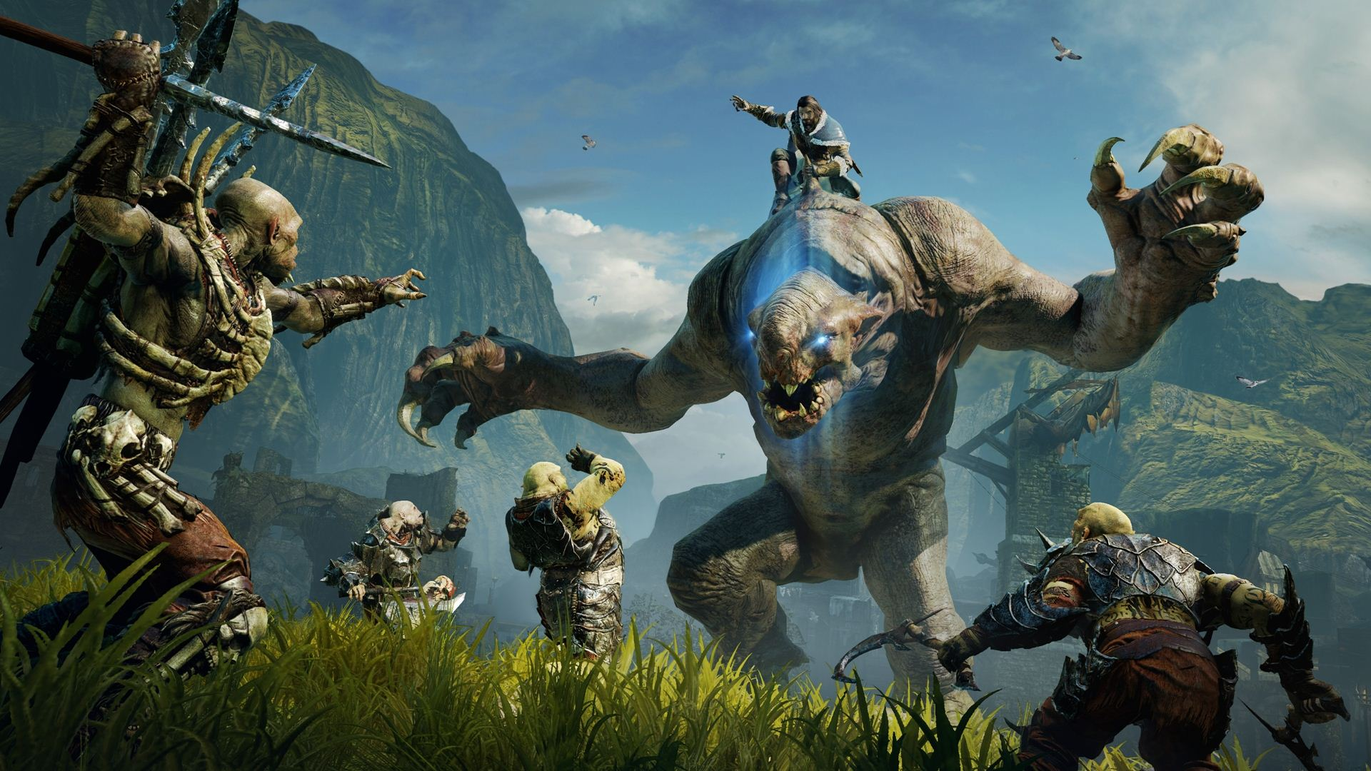 Middle Earth Shadow of Mordor Bullshot