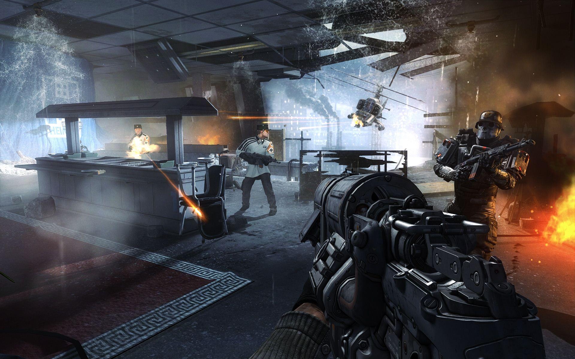 Wolfenstein The New Order Bullshot