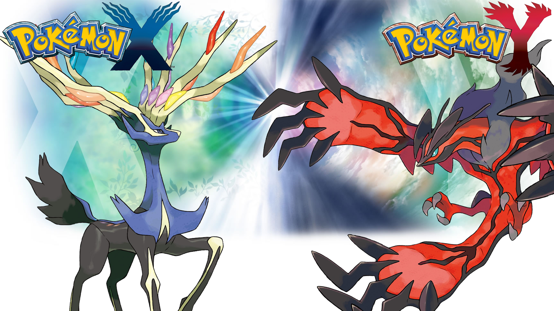 pokemon_x_y___wallpaper___xerneas_and_yveltal_by_thelimomon-d6q5bcs