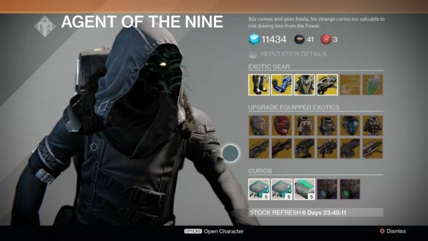 Destiny_Xur_January 2nd
