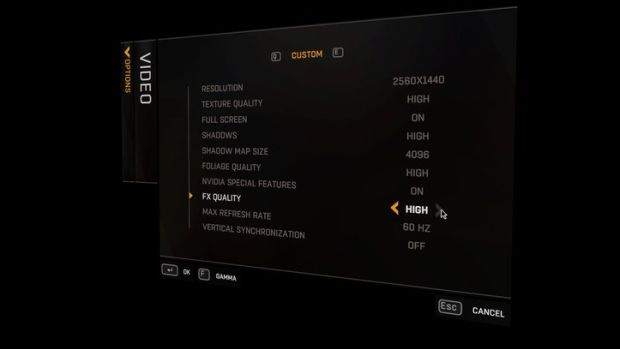 Dying Light_PC graphics options